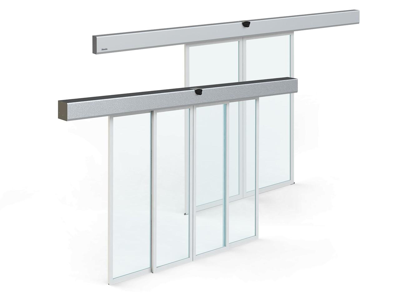 kit para puerta corredera automática de cristal