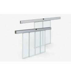 Puerta corredera de cristal automática