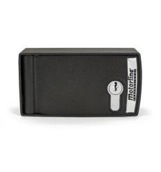 Caja desbloqueo externo con pulsador