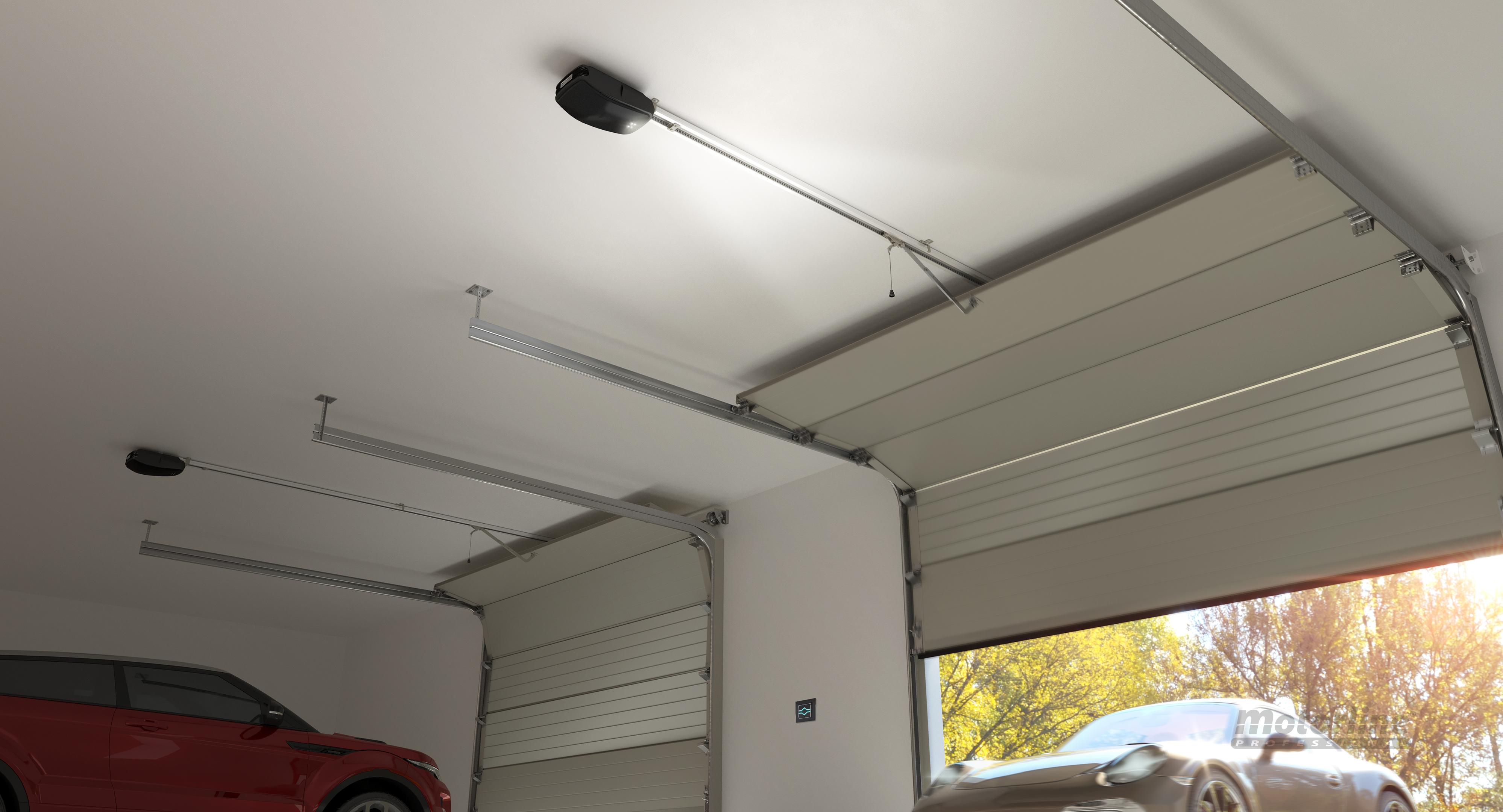 Motor de techo puerta garaje